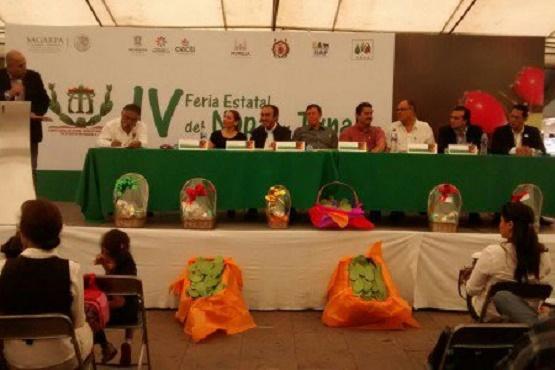 Exponen Platillos de Baltierrilla en Feria Estatal del Nopal y la Tuna