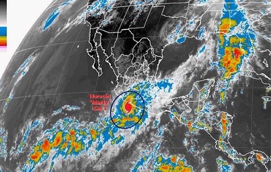 Prevén Fuertes Lluvias por Marty en la Costa Michoacana