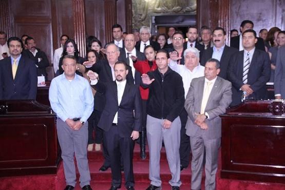 Designa Congreso a Marco Vinicio Avila Sánchez Como Alcalde Provisional de Sahuayo