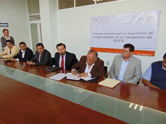 Convenio Interinstitucional COBAEM-ISSSTE