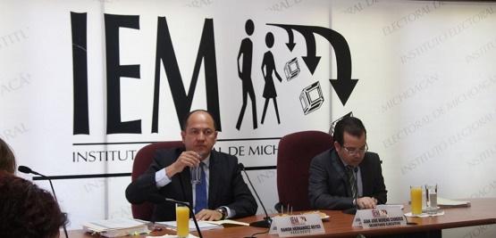 """De Realizar Elecciones en Sahuayo y Tarímbaro Habría un Escenario Presupuestal """"Complicado"""": IEM"""