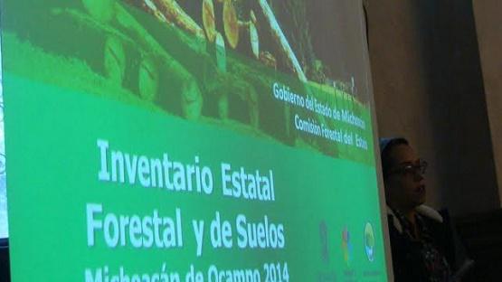Presenta COFOM Inventario Estatal Forestal y de Suelos de Michoacán