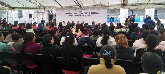 14 Municipios Beneficiados con la Campaña 10 Días Contigo en la Lucha Contra el Cáncer