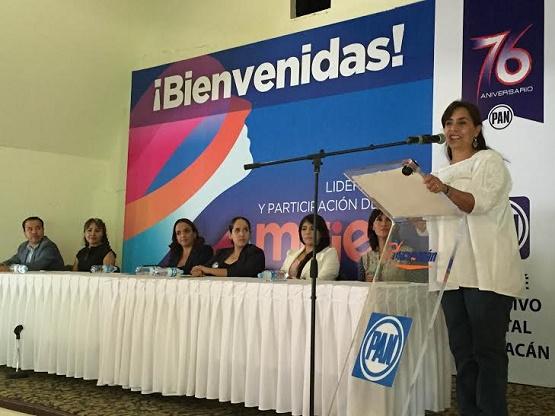 PAN, en Lucha Constante por Integrar a las Michoacanas en la Política
