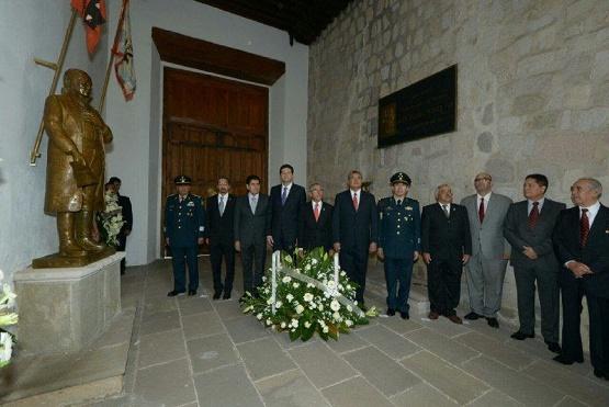 Recuerdan a José María Morelos y Pavón con Recorrido en Bando Solmene