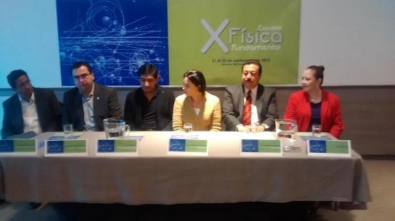 Anuncian Décima Escuela de Física Fundamental, Morelia 2015