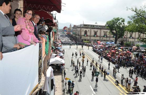 Las Fiestas Patrias Ratifican la Confianza de las y los Michoacanos en Recuperar los Espacios Públicos