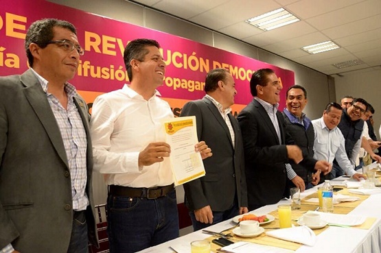 Nombran a Antonio García Como Secretario General del PRD
