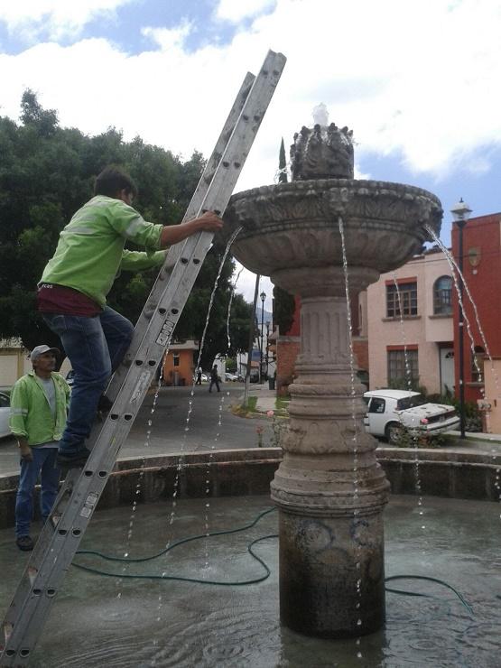 Llama Ayuntamiento de Morelia a Ciudadanía a Mantener en Buen Estado las Fuentes Públicas
