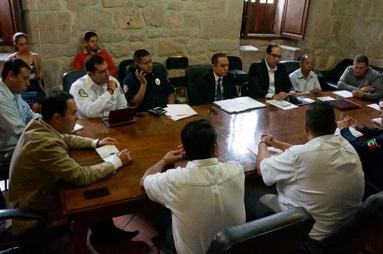 Ayuntamiento de Morelia Arranca Reuniones Para Definir Operativo de Fiestas Patrias