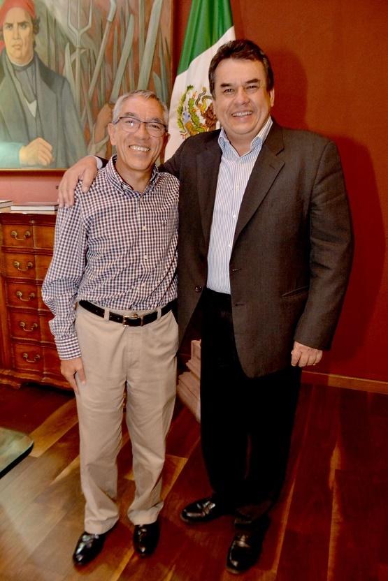 Se Reúne Gobernador Salvador Jara con el Físico Ernesto Márquez