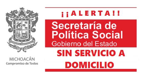 SEPSOL/047/15 SEPSOL Aclara que no Entrega Apoyos Económicos a Domicilio