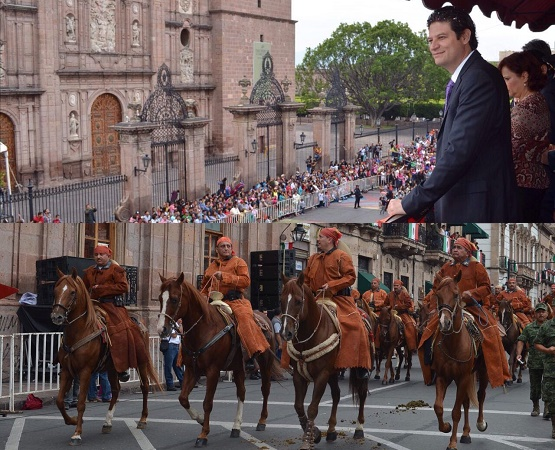 Sin Novedad Concluye Desfile Cívico Militar