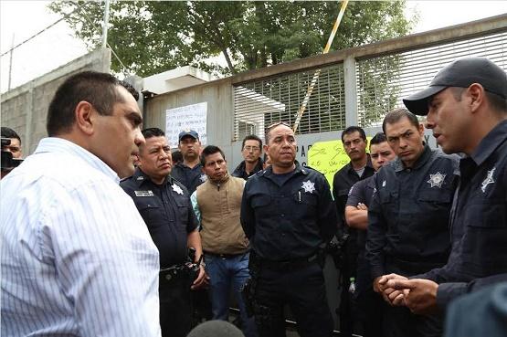 Secretaría de Seguridad Pública Logra Acuerdos Para Evitar Paro del Personal Operativo