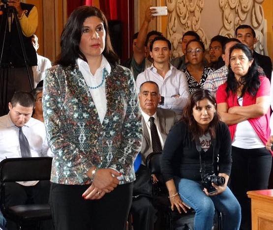 Toma Protesta Carmen Alicia Ojeda Dávila Como Titular del Instituto de la Mujer Moreliana