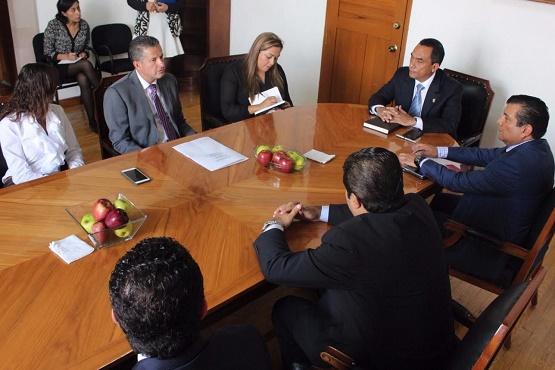 Se Reúne el Secretario de Gobierno con el Consejo del Colegio de Notarios de Michoacán