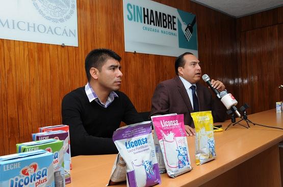 LICONSA Anuncia Ampliación de Beneficios y Apertura de Lecherías en Michoacán