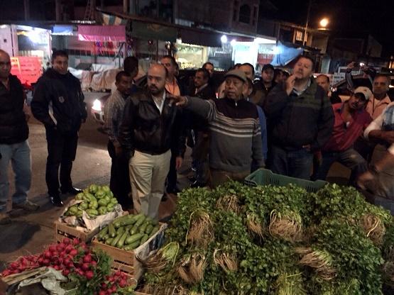 Realiza Ayuntamiento Operativos Para Regular a Comerciantes de la Central de Abastos