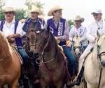 """Hipólito Mora y Alfonso Martínez Acompañan en Cabalgata a """"El Bronco"""""""