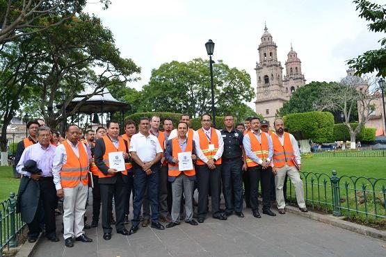 Realiza Ayuntamiento Acciones Para Regular Comercio en el Centro de Morelia