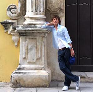 Mick Jagger en Cuba