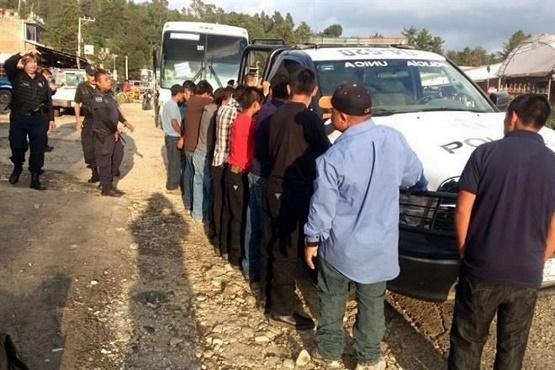 Había Menores Entre los 15 Migrantes Rescatados en Zitácuaro