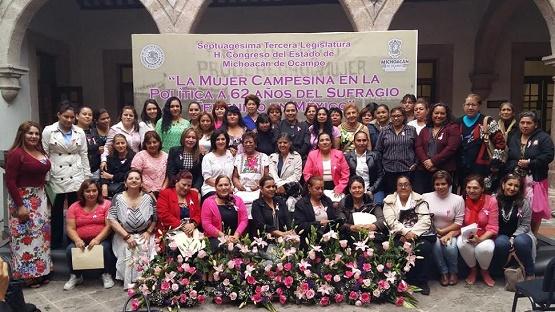 Diputadas Locales Hacen un Llamado a las Michoacanas a ser Críticas, Analíticas y de Propuesta Para Alcanzar la Igualdad de Género