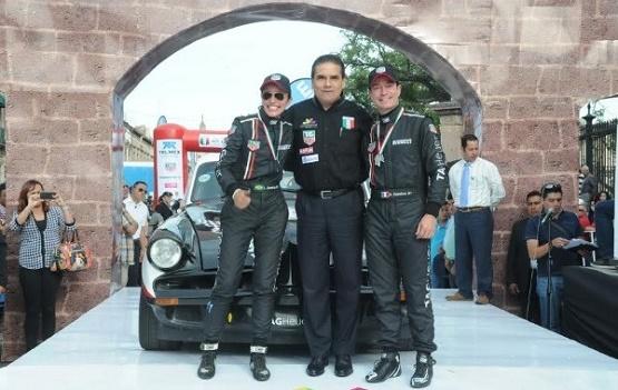 Ofrece Silvano Condiciones de Seguridad en la Carrera Panamericana