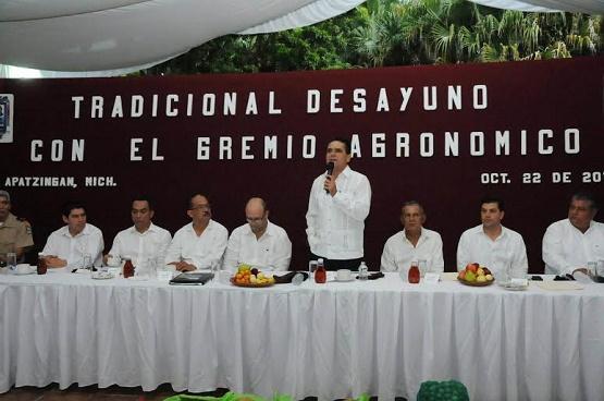 Tendrá el Valle de Apatzingán más Presupuesto Para el Campo: Silvano Aureoles