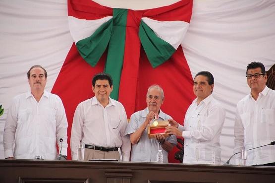 Necesario Trabajar Todos los Poderes de Gobierno Para Rendir Tributo a la Gesta de Morelos: Eduardo García Chavira