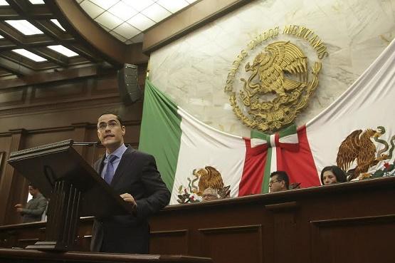 Impulsará Villegas Soto Ley de Coordinación Fiscal del Estado de Michoacán