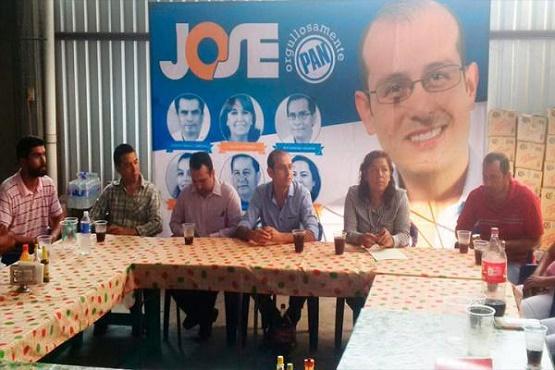Inicia José Hinojosa Precampaña Para Dirigir al PAN Estatal