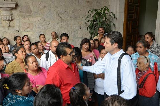 Atiende Alcalde Alfonso Martínez a Colonos y Organizaciones Sociales