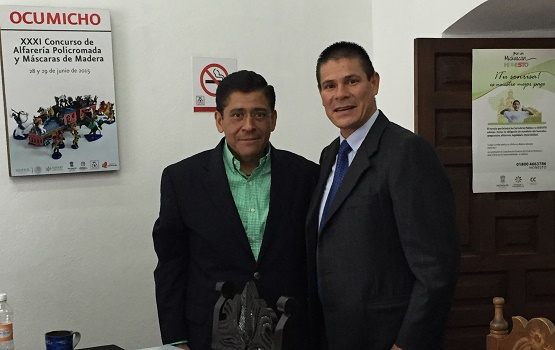 Asume Marco Antonio Lagunas Vázquez la Dirección del Instituto del Artesano Michoacano
