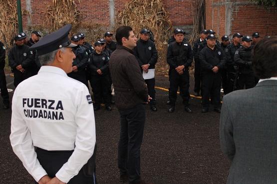 Alcalde Alfonso Martínez Exhorta a Policías a Trabajar con Honestidad