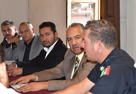 Se Reúne Dirigencia y Alcaldes Priístas con el Secretario de Seguridad Pública del Estado