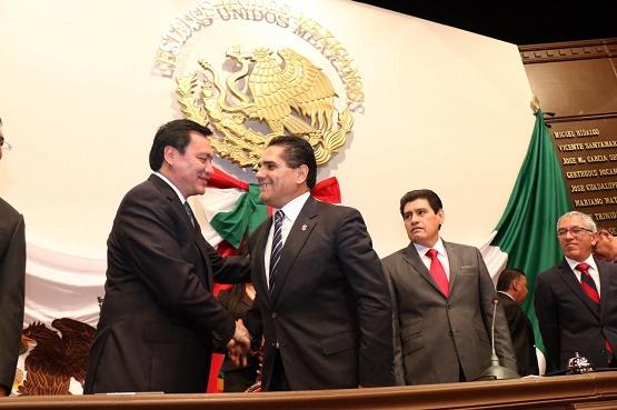 Reitera Osorio que se Mantendrá Apoyo de la Federación Para Michoacán