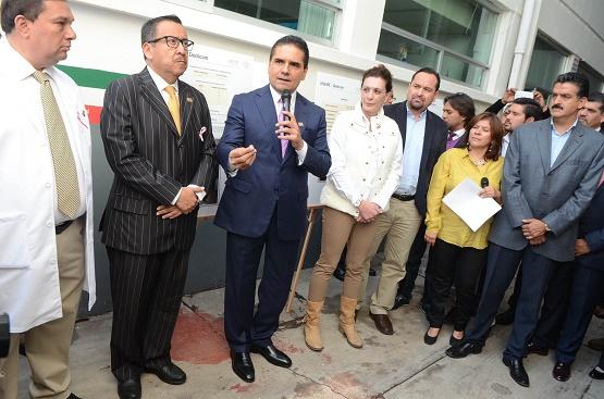 El Gobernador de Michoacán Inaugura la Remodelación del Centro Estatal de Atención Oncológica