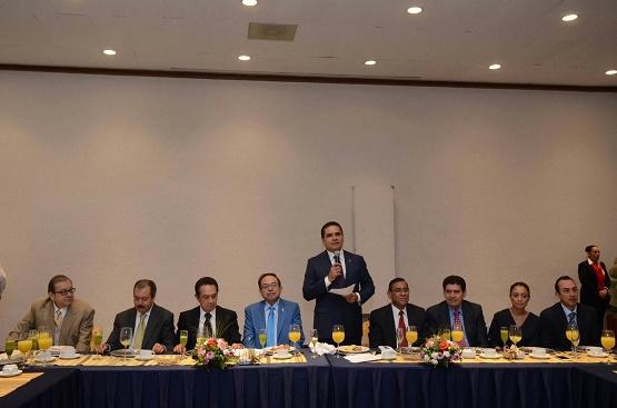 Destaca Gobernador Labor de los Medios Para Lograr el Cambio en Michoacán