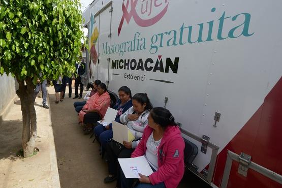 Campaña del Ayuntamiento de Morelia Contra el Cáncer de Mama Llegará Este Martes a San Nicolás Obispo