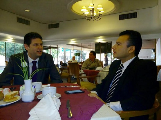 Fidel Calderón y Alfonso Martínez Acuerdan Gestión Conjunta de Recursos Federales Para Morelia