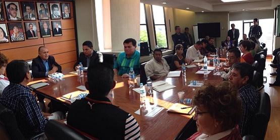 Se Reúne Director General del COBAEM con Integrantes del SITCBEM
