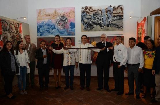 Gobernador Silvano Aureoles en Muestra y Tianguis Artesanal de Noche de Muertos