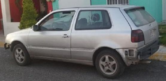 Roban Auto Afuera de la Academia de Policía en Morelia