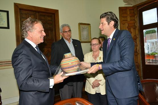 Ayuntamiento de Morelia Fortalece sus Relaciones Internacionales