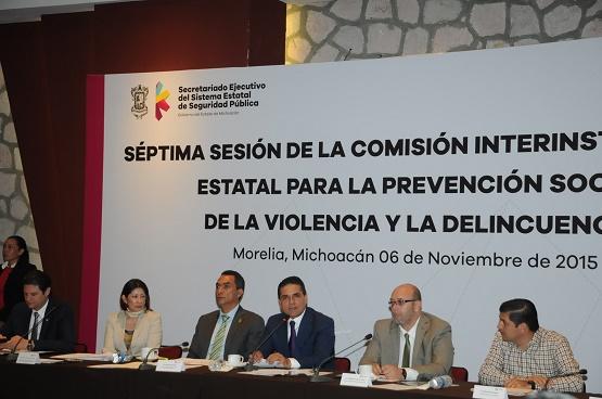 Habrá Especial Enfasis a Prevención del Delito Para el Sector Juvenil: Silvano Aureoles