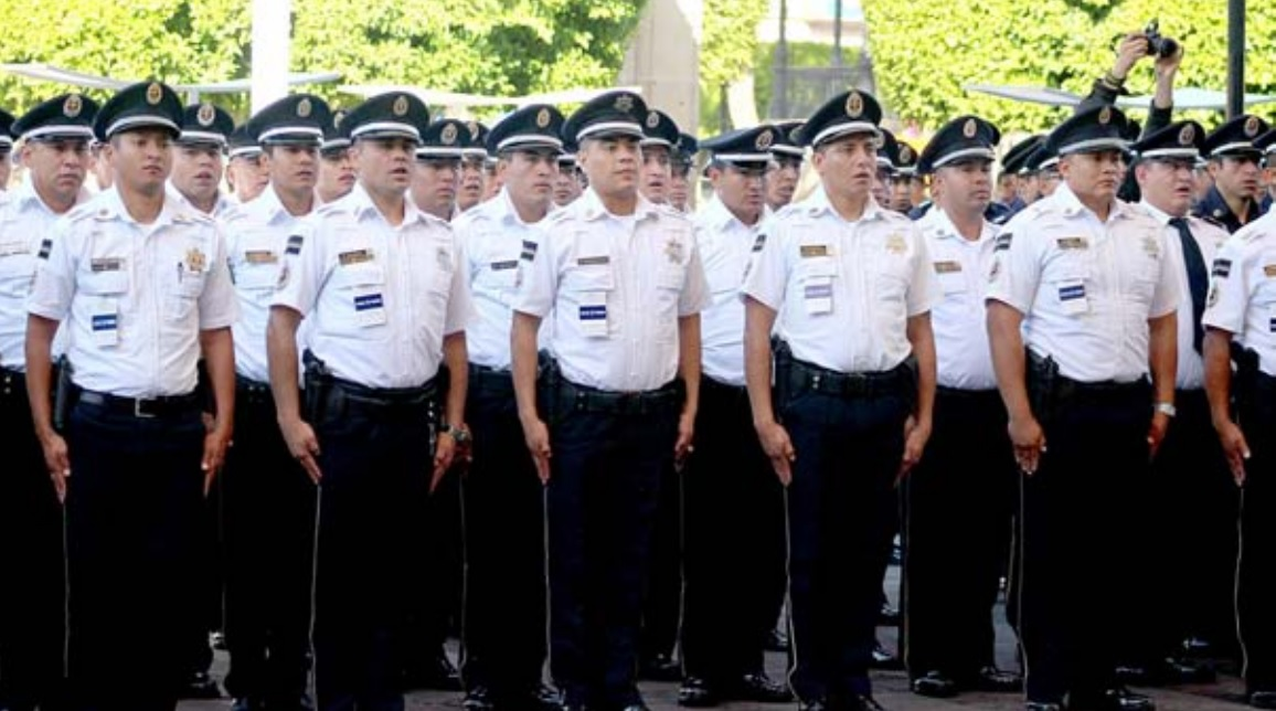 Despliegan a Elementos de la División de Gendarmería de la Policía Federal Para Apoyar en Tareas de Seguridad en Morelia