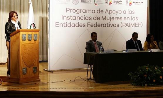 Capacitan a Personal de Semujer Para Brindar Atención Directa a Michoacanas Víctimas de Violencia