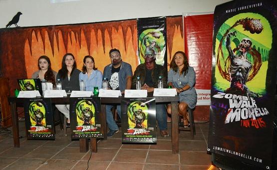 Invita Ayuntamiento de Morelia a Participar en el Zombie Walk 2015