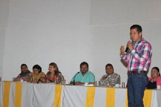 Rinden Protestas Integrantes de Coordinadora de Autoridades Locales PRD